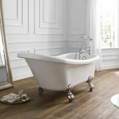 April Eldwick Freestanding Bath 1500 x 750mm with Feet