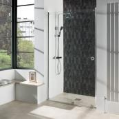 Aquadart Rolla 8 Recess Wetroom Door 1200mm