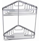 Double Corner Basket Stainless Steel