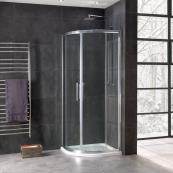 Oceana Emerald 8mm Quadrant Door 800mm