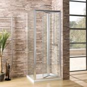Oceana Crystal 6mm Side Panel 760mm with Crystal Clear Glass