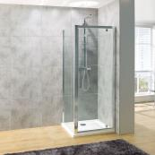 Oceana Platinum 8mm Side Panel 1000mm with Crystal Clear Glass