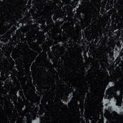 Showerwall Square Edge Bathroom Cladding Black Marble 2440 x 1200mm