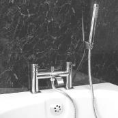 Conwy Bath Shower Mixer Chrome