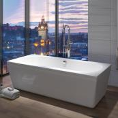 Trojan Edinburgh Freestanding Double Ended Bath 1800 x 800